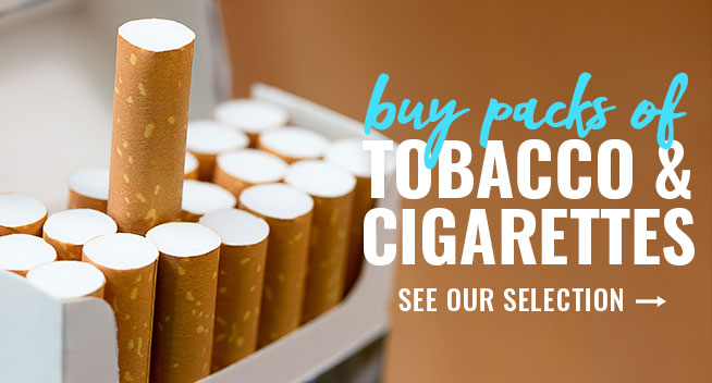 Order Tobacco and Cigarettes from Just Drink